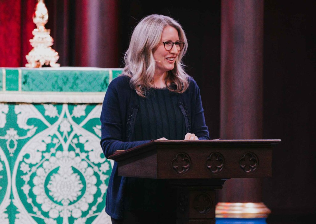 Kimberly June Miller Speaking At Incarnation